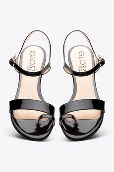 Gloss shoes  sanda%c5%82ki lakierowane na palec  389 z%c5%82  3