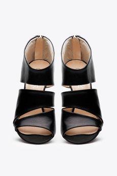 Gloss shoes  botki na szpilce licowe  629 z%c5%82  3