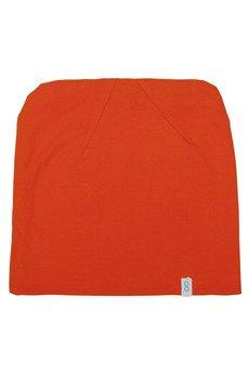 - Czapka bawełniana pomarańcz
