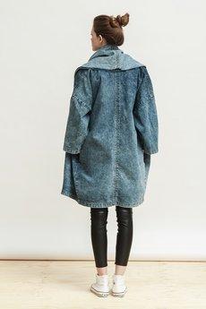 DŻINSLOVE - denimowy płaszcz | Dżinslove