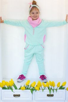 Bubi Boo - Spodnie MINT CANDY