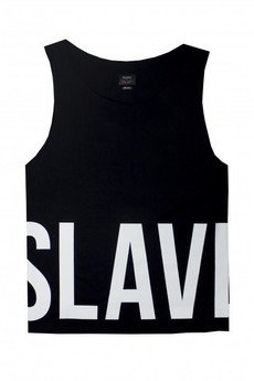 - SLAVE TANK TOP