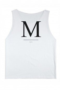 MAJORS - CHAPEAU BAS WHITE TANK TOP