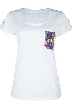 COLORSHAKE - T-shirt owl white