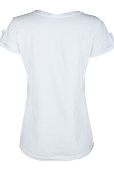 - T-shirt owl white