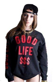 MAJORS - GOOD LIFE CREWNECK