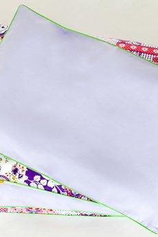 Lola y Lolo - Pościel FIOLETOWE PTASZKI 135x100cm