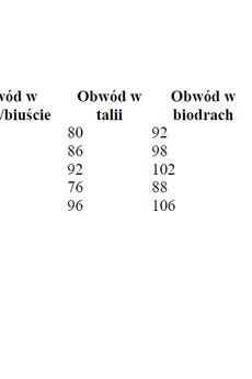 Rozmiar%c3%b3wka koszule damskie