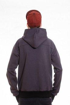 Slogan ubrania ekologiczne, etyczne i wegańskie - The bassman bluza męska grey