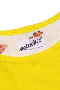 - DEEP SEA BABY jersey dress TANG/yellow