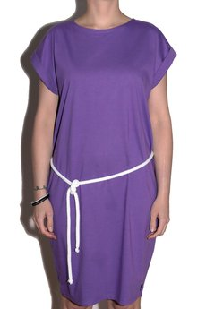 MALENKA HEADWEAR - DEEP SEA BABY jersey dress TANG/violet
