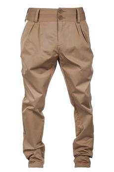 MADOX design - spodnie bufki kamelowe