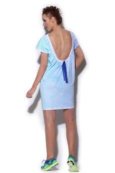 FENOMENALE - sukienka FUGU bez pleców
