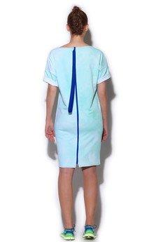 - sukienka FUGU z zamkiem