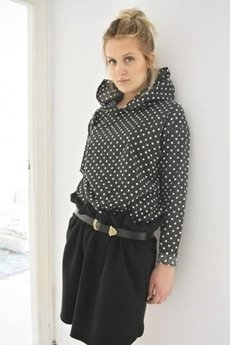Brunoszka - black/dots/blouse