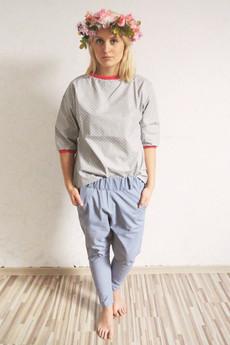 Brunoszka - gray/pink/shirt