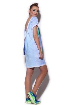 FENOMENALE - sukienka ŻARŁACZ bez pleców
