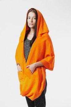 - MNISHKHA jasnopomarańczowa dresowa