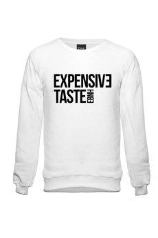 - Sweatshirt Expensive Taste White