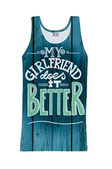 - My girlfriend tank-top