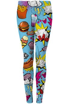 Mr. Gugu & Miss Go - Comics leggings