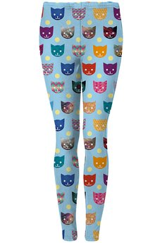 Mr. Gugu & Miss Go - Funny cats leggings