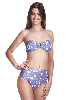 - Paris high-waisted bikini bottom
