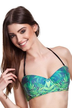 Mr. Gugu & Miss Go - Jane pushup halter bikini top