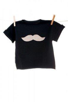 maybe4baby - Shortie ciemny granat / wąsy