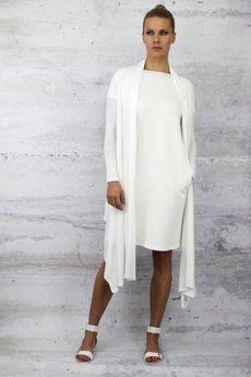 YES TO DRESS by Bożena Karska - WIND jersey cardigan