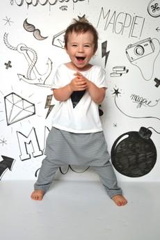 - Black&White Pantalon