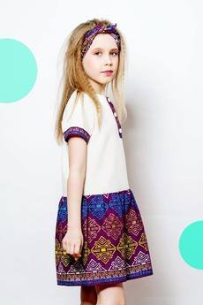 Afriq Password - Sukienka efe Purple