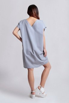 {basic station} - CUMULUS DRESS, SKYCLOUDS ss'14