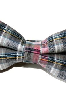 - Mucha gotowa bowstyle Szaro-różowa