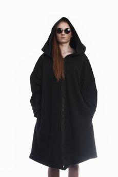 HebeQuss - Bluzo-płaszcz HQ Black