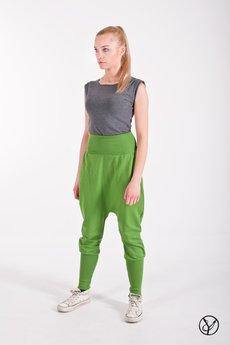 - Spodnie wąskie zielone