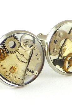 SCRADEUS - Zegarkowe spinki