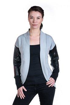Slogan ubrania ekologiczne, etyczne i wegańskie - Chelsea bluza damska gray