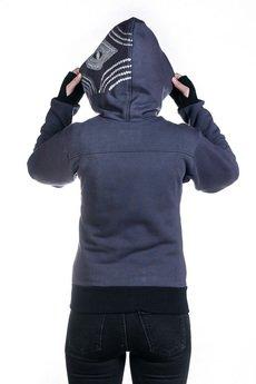 Slogan ubrania ekologiczne, etyczne i wegańskie - The Eye by OTECKI bluza damska grey