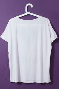 - Oversize T-shirt Pocztówka z kolonii