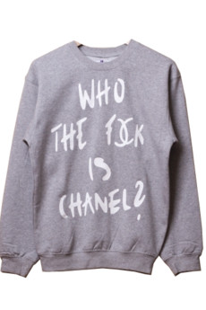 LA PSYCHE - WHO THE FUC* IS CHANEL/GRAY