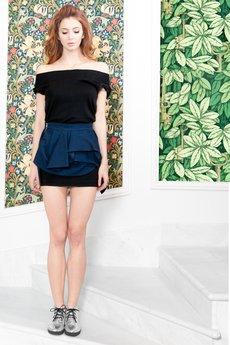 - Przepiękna zakładkowa spódnica