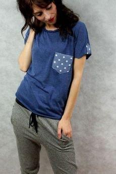 drops - t'shirt z kieszonką