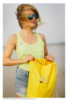 Borba - Plecak, worek żółty - Energiczna Lemoniada