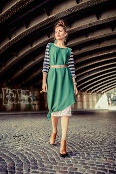 Not Anyone - Sukienka GreenStripes