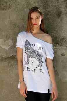Kowalski - t-shirt z wilkiem