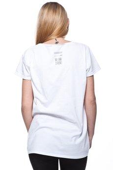 NA LEWĄ STRONĘ - SZCZWANY LIS koszulka damska