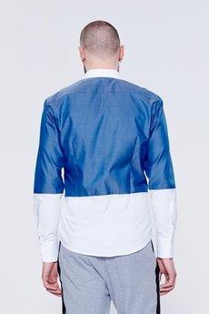 BLUE EYE POP - Dwukolorowa  koszula męska