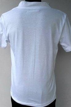 BLUE EYE POP - Biały T-shirt z nadrukiem