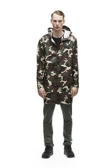RAINS - Rains Long Coat Camouflage